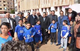 محافظ الغربية يشهد إطلاق المبادرة الرئاسية لعلاج أمراض سوء التغذية لطلاب المرحلة الابتدائية | صور