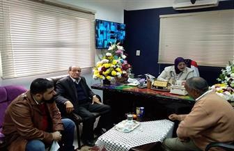 وكيلة وزارة التعليم بكفر الشيخ تبحث مع لجنة وزارية تطوير التعليم الثانوي | صور