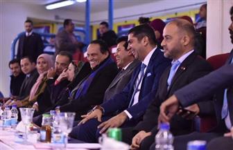 وزير الرياضة يشهد افتتاح البطولة الإفريقية للريشة الطائرة بإستاد القاهرة