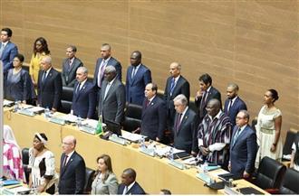 القمة الإفريقية تشكر السيسي  وتدرس اقتراحه عقد قمة بمصر لإنشاء قوة إفريقية لمكافحة الإرهاب