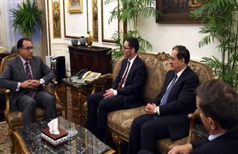 رئيس الوزراء يلتقى رئيس مجلس إدارة شركة ونترشال ديا الألمانية