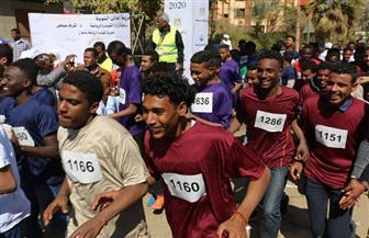 انطلاق سباق الجري السنوي بمشاركة ألف متسابق من أبناء النوبة   صور