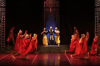 عرض «شجرة الدر» على مسرح الجمهورية