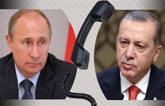 بوتين يبحث الوضع في سوريا مع أردوغان وسط توتر الأوضاع