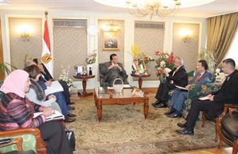 وزير التعليم العالي يؤكد تقديم جميع التسهيلات للطلاب الأردنيين للدراسة بالجامعات المصرية| صور