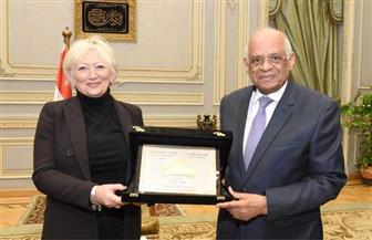 عبد العال يستقبل وفد جمعية الصداقة المصرية الفرنسية بالبرلمان الفرنسي | صور