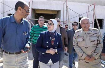 وزيرة الصحة: تسجيل 52 ألفا و404 مواطنين بمنظومة التأمين الصحي بجنوب سيناء | صور