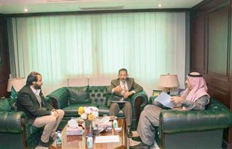الملحق الثقافي السعودي يستقبل نائب رئيس جامعة السويس لبحث سبل التعاون | صور