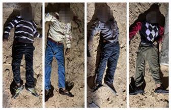 «الداخلية»: مقتل 17 عنصرا إرهابيا في تبادل إطلاق نار مع الشرطة بشمال سيناء | صور