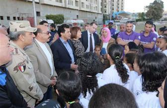 وزير الشباب والرياضة يشهد مشروع «ألف بنت.. ألف حلم»