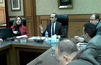 """نائب المحافظ يبحث الانتهاء من مشروعات """"حياة كريمة"""" بسوهاج في أبريل المقبل"""