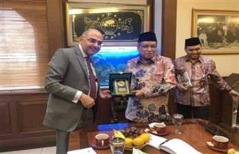 """""""نهضة العلماء"""" تكرم السفير المصري بإندونيسيا"""