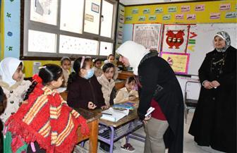 نائب محافظ مطروح تتفقد عددا من المدارس الفنية والوحدات الصحية | صور