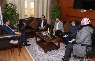 وفد من ديوان الخدمة المدنية الأردني يزور المركزي للتنظيم والإدارة | صور