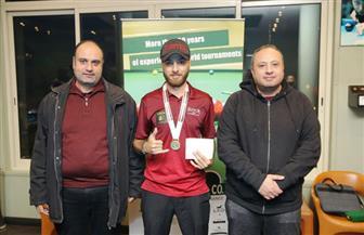 وسام وحيد يتوج بذهبية بطولة الجمهورية للبلياردو | صور