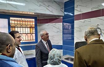 مدير «التأمين الصحي» بالغربية يتفقد ترميم العيادات بالمنطقة الثانية | صور