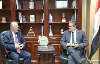 وزير السياحة والآثار يستقبل سفير اليونان بالقاهرة لبحث تعزيز التعاون بين البلدين | صور