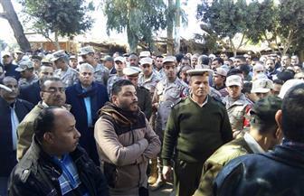المنوفية تودع شهيد الواجب المجند علي حسين الكفراوي بأشمون | صور