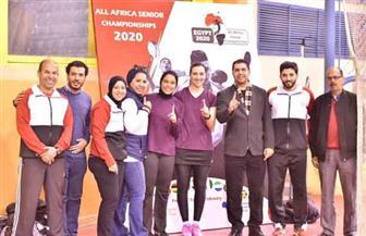 سيدات الريشة الطائرة يتوج بذهبية البطولة الإفريقية في القاهرة | صور