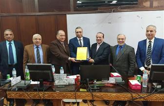 مجلس هندسة طنطا يكرم نائب محافظ الغربية | صور