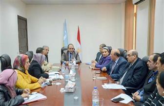 اجتماع بالإسكندرية لمناقشة آليات تنفيذ المبادرة الرئاسية «اتحضر للأخضر»