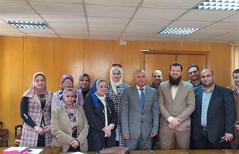 «صحة الغربية» تشكل لجنة لبرنامج الزمالة المصرية بالمحافظة | صور