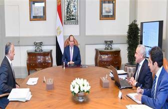 الرئيس السيسي يبحث مع محافظ البنك المركزي ونائبه إجراءات الحفاظ على الاستقرار النقدي