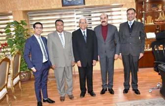 محافظ أسوان يستقبل سفير دولة نيبال | صور