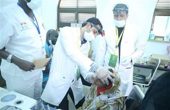 قافلة الأزهر توقع الكشف الطبي على 1674 شخصا وتجري 24 عملية جراحية | صور