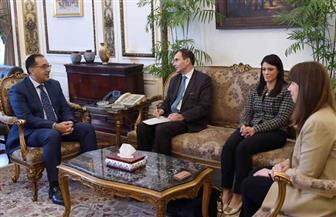 رئيس الوزراء يلتقي نائب رئيس البنك الأوروبي لإعادة الإعمار والتنمية