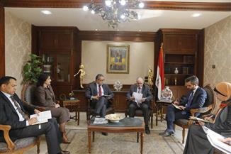 وزير السياحة والآثار وسفير قبرص بالقاهرة يبحثان سبل التعاون المشترك