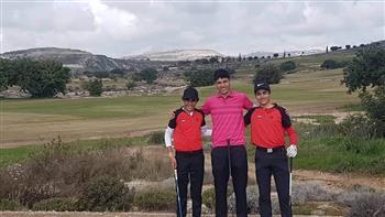 ناشئو مصر يشاركون في بطولة قبرص الدولية للجولف