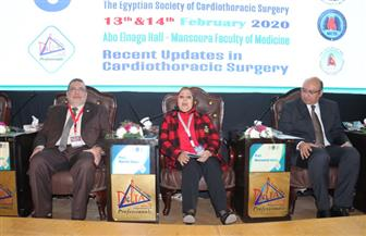 افتتاح فعاليات المؤتمر الدولي السنوي السادس لقسم جراحة القلب والصدر بجامعة المنصورة | صور