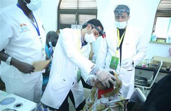 قافلة الأزهر الطبية إلى تشاد تنقذ حياة طفل باستخراج جسم صخري من الأنف | صور