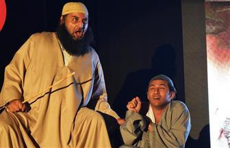 قصتا طه حسين وعلي مبارك في عرض مسرحي بالجمهورية | صور