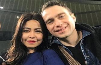 حسام حبيب وشرين يحتفلان بعيد الحب بطريقة رومانسية