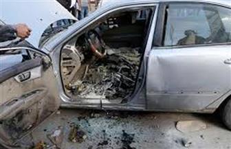 إصابة 4 مواطنين  في حادث على صحراوي  البحيرة