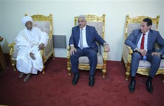 المجلس الأعلى للشئون الإسلامية بتشاد يستقبل المشرف العام على قوافل الأزهر والسفير المصري| صور