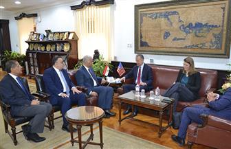 رئيس جامعة الإسكندرية والسفير الأمريكي يؤكدان على دعم التعاون المشترك   صور