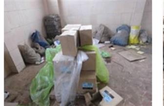 ضبط 25 مصنع مخالف و343,5 طن مواد غذائية خلال حملات أمنية