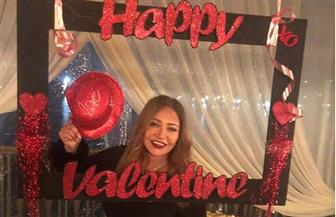 ليلى علوي تحتفل بعيد الحب | صور