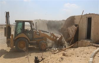"""""""الأنصاري"""": إزالات فورية لــ 48 حالة تعدٍ وبناء مخالف بمركز الفيوم   صور"""