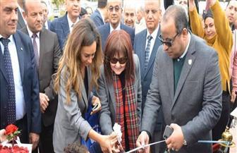 """فى افتتاح ميدان الأبنودى بالإسماعيلية.. نهال كمال: وصيته الأخيرة كانت """"لا تنسوني""""   صور"""