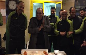 المقاولون العرب يحتفل بعيد ميلاد عماد النحاس