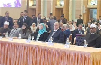 وزيرة التضامن ومحافظ القاهرة يفتتحان مؤتمر «حماية ذوى الإعاقة» | صور