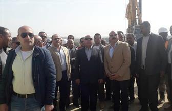 وزير النقل يتفقد محاور كباري خزان أسوان ودراو وكلابشة