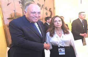 وزير الخارجية يلتقي نائبة رئيس الحكومة ووزيرة الدفاع الوطني في لبنان