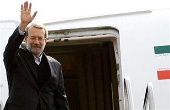 رئيس مجلس الشورى الإيراني يصل إلى دمشق