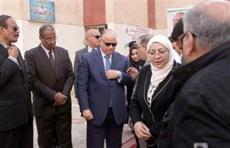 وزيرة الصحة ومحافظ القاهرة يطلقان الحملة القومية ضد شلل الأطفال من الأسمرات