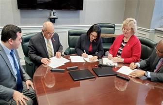 رئيس جامعة أسيوط يوقع اتفاقية تعاون مع جامعة لويفيل الأمريكية في مجال الهندسة الطبية | صور